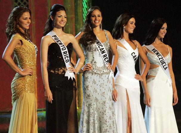 Miss Universe finalists