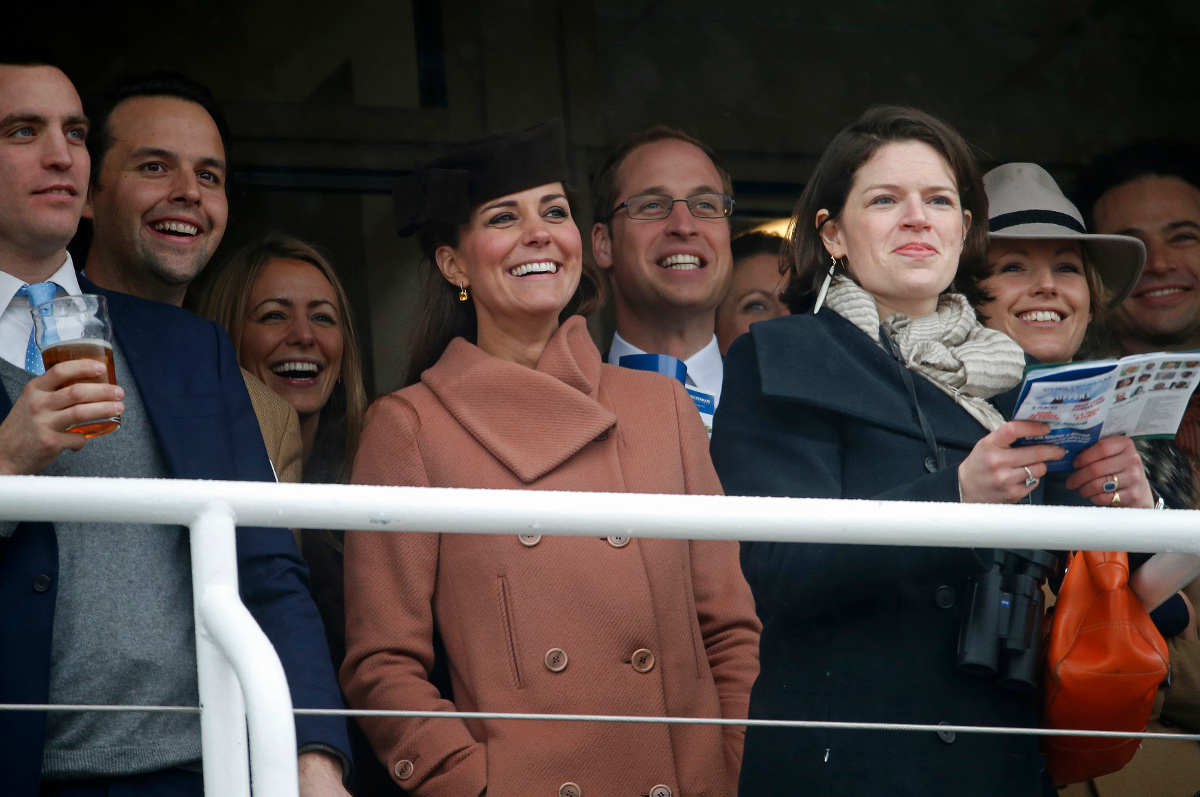 Kate at the races