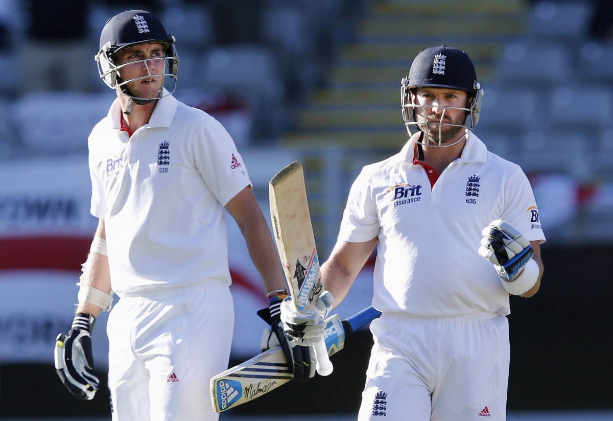 Stuart Broad and Matt Prior (Reuters)