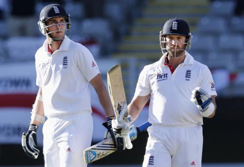 Stuart Broad and Matt Prior (Reuters)