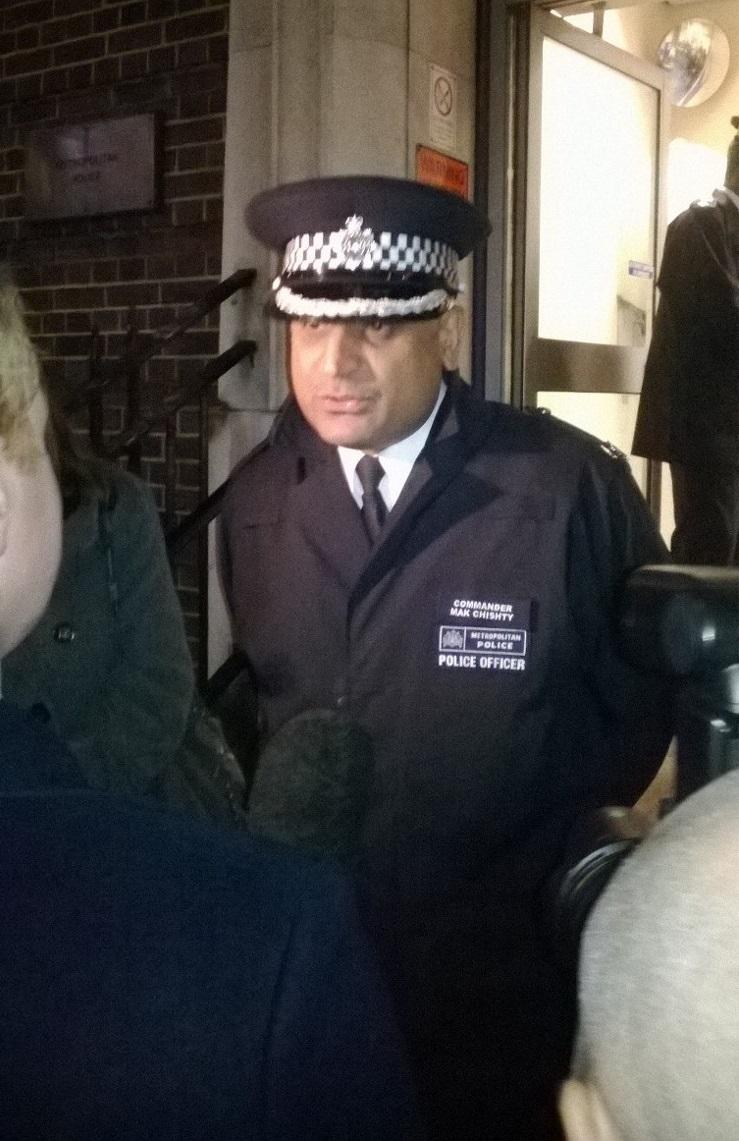Police Officer Mak Chishty