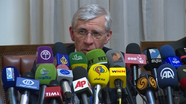 Straw: World Perception of Iran Improves Under Rouhani