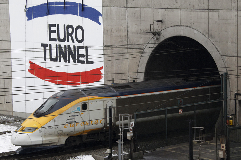 The Eurotunnel now has 2G and 3G mobile network coverage