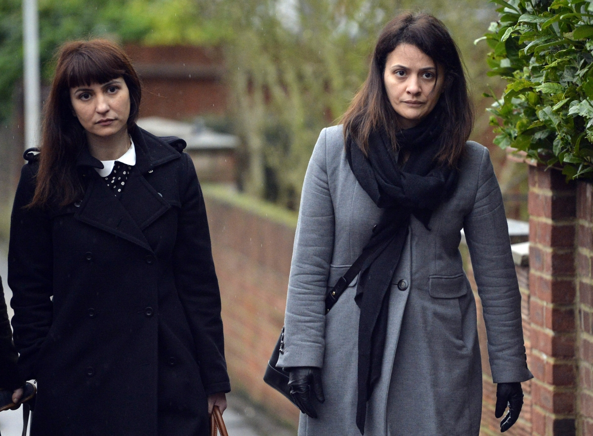 Francesca and Elisabetta Grillo's father arrested