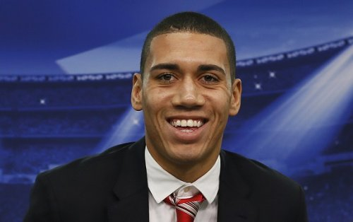 Manchester United defender Chris Smalling condemned for 'Jagerbomber' costume by terror victim's relative