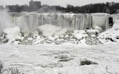The U.S. side of the Niagara Falls