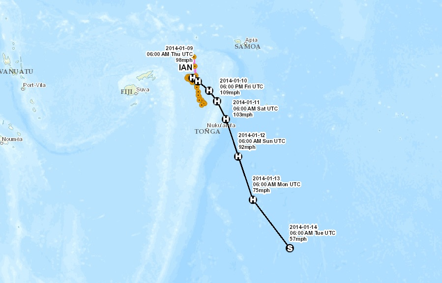 tropical cyclone ian