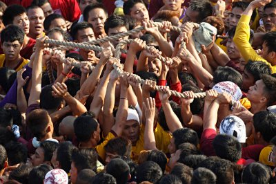 black nazarene rope