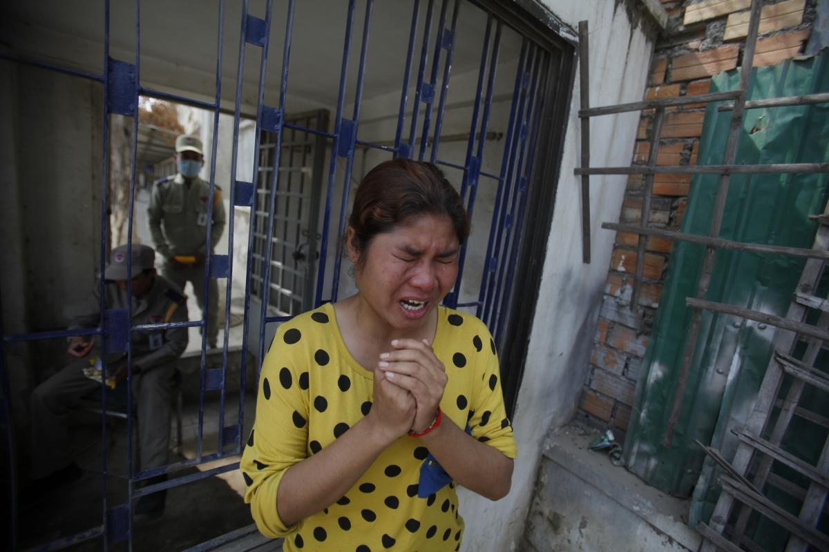 Cambodia Walmart Nike Slammed Over Garment Workers