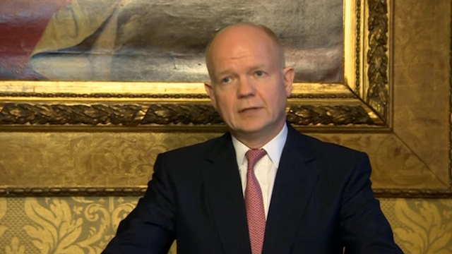Hague and Jordanian Judeh Support Geneva II Talks