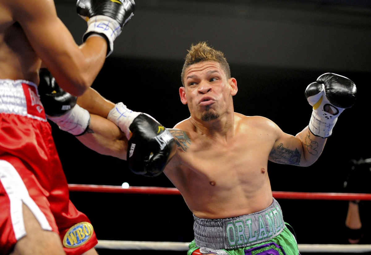 Boxer Orlanda Cruz came out as gay in 2012 and has been challenging for championship belts