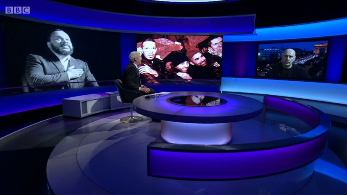 Jeremy Paxman interviews Alain Soral on BBC's Newsnight (Pictured). According to Deloitte, a number of newsreaders and current affairs presenters, including Paxman, Fiona Bruce, and Emily Maitlis, use 'personal service' companies to pay less tax