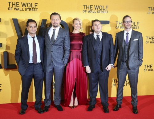 The UK premiere of The Wolf Of Wall Street