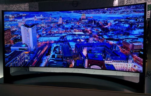 LG 105in 4K ultra wide TV