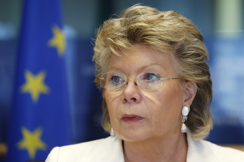 Viviane Reding, the vice-president of the European Commission