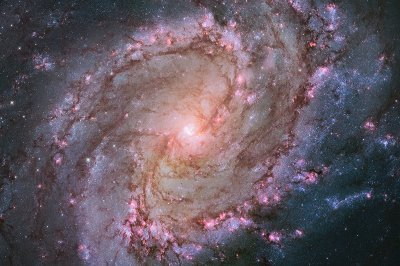 hubble spiral galaxy