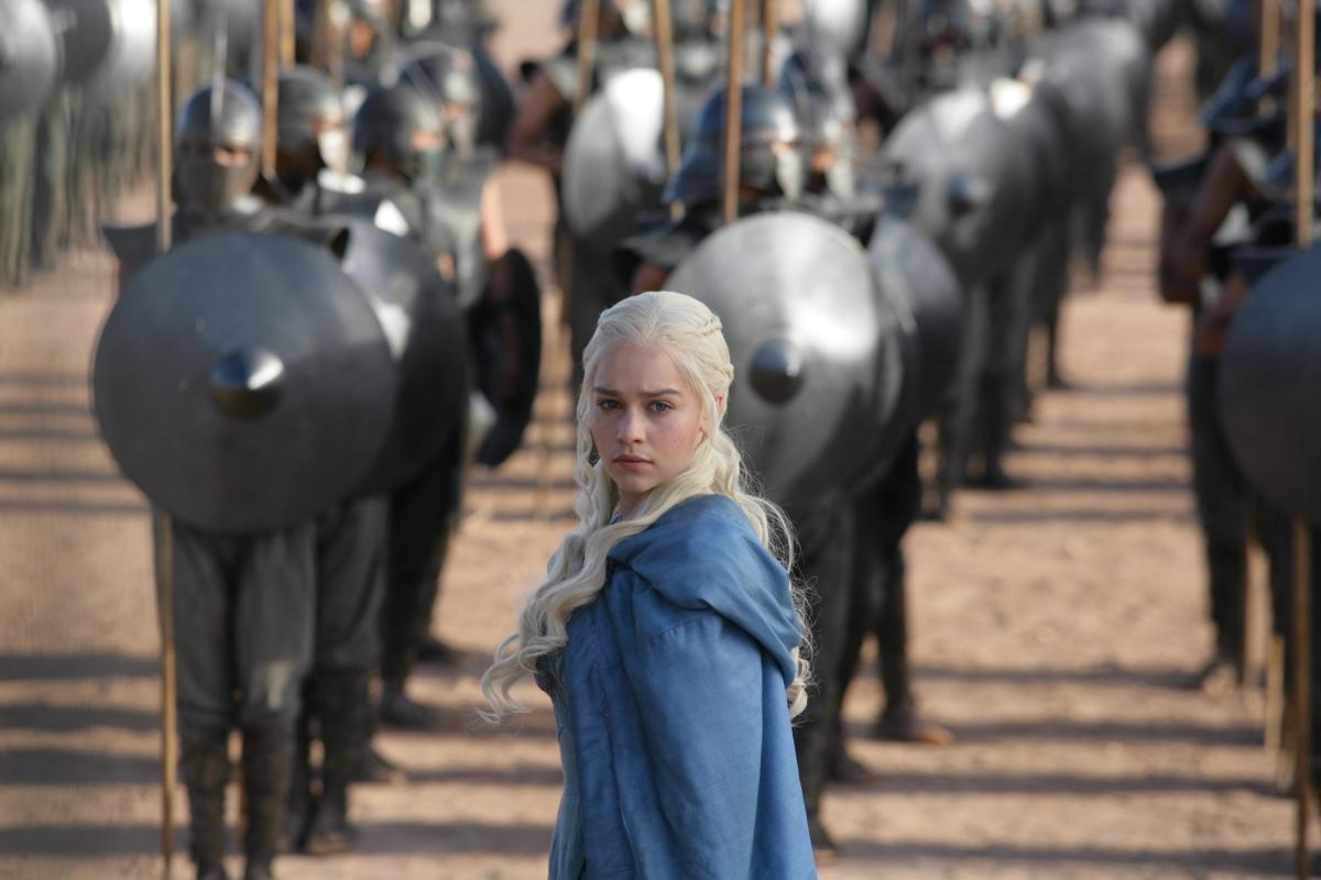 Game of Thrones Daenerys Targaryen played by Emilia Clarke