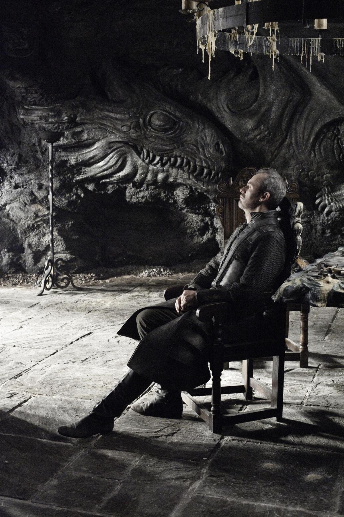 Game of Thrones Stannis Baratheon played by Stephen Dillane