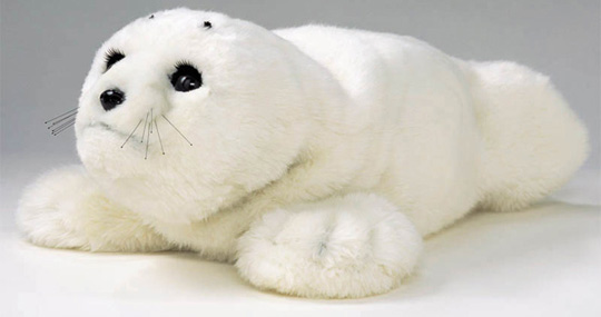 PARO, a theraputic baby seal robot