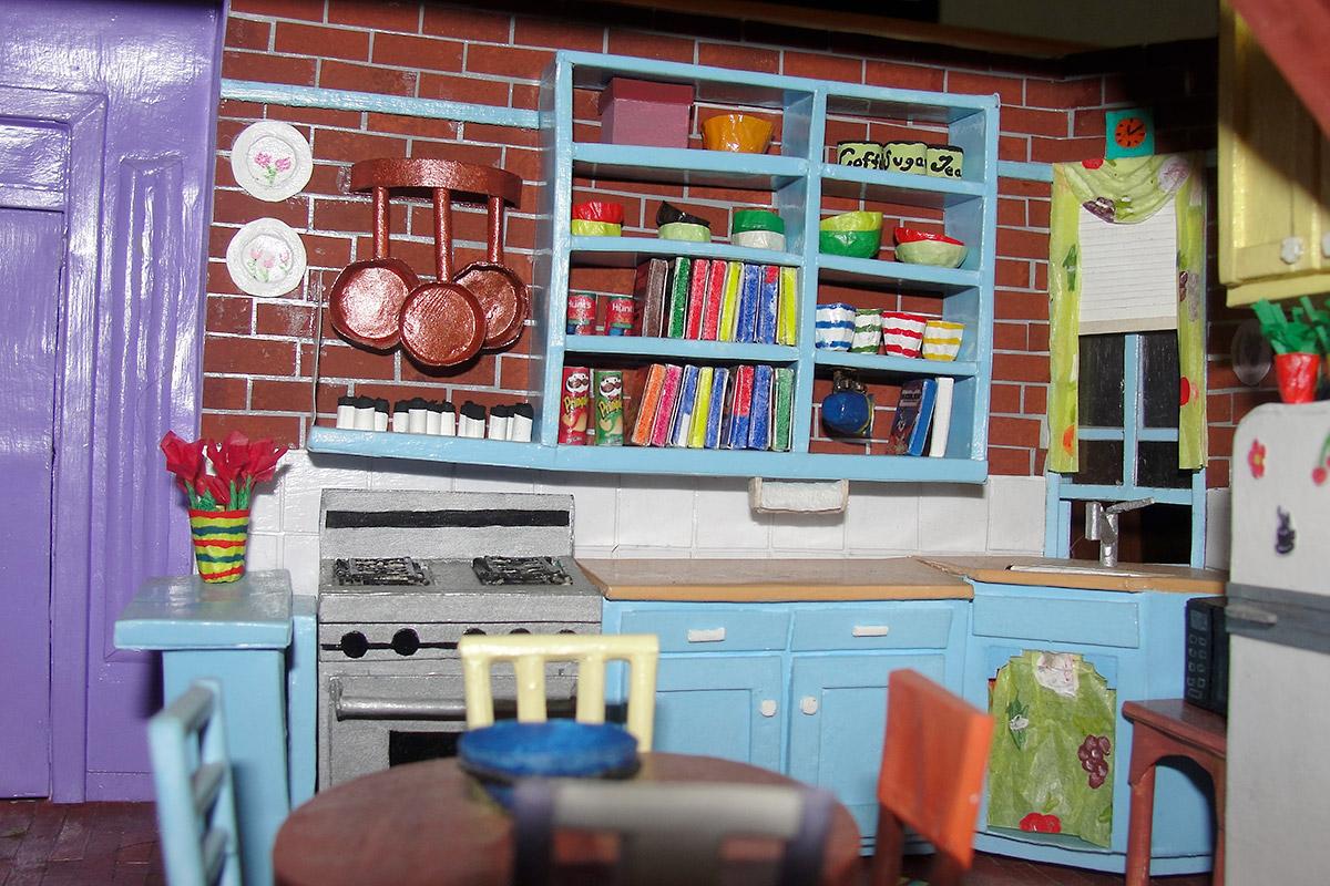 friends apartment kitchen