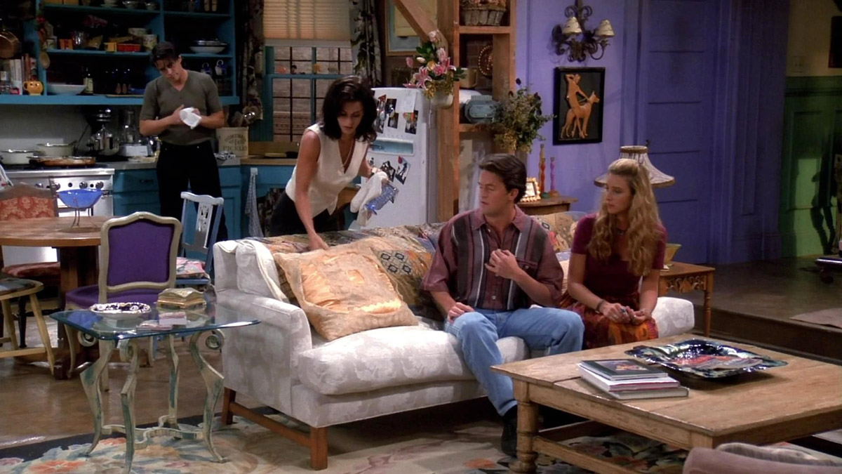 friends real sofa