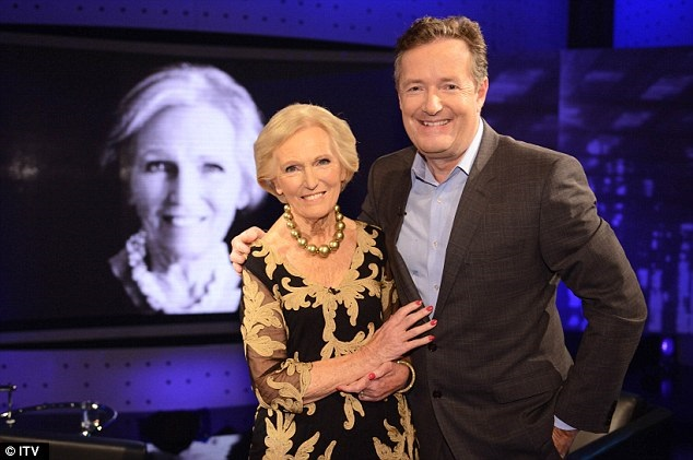 Mary Berry on Piers Morgan's Life Stories