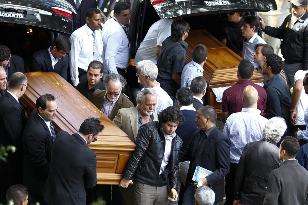 Former Venezuelan beauty queen Monica Spear's funeral
