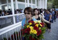 Former Venezuelan beauty queen Monica Spear\'s funeral