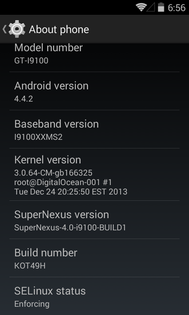 Update Galaxy S2 I9100G to Android 4.4.2 KOT49H KitKat with SuperNexus ROM [How to Install]