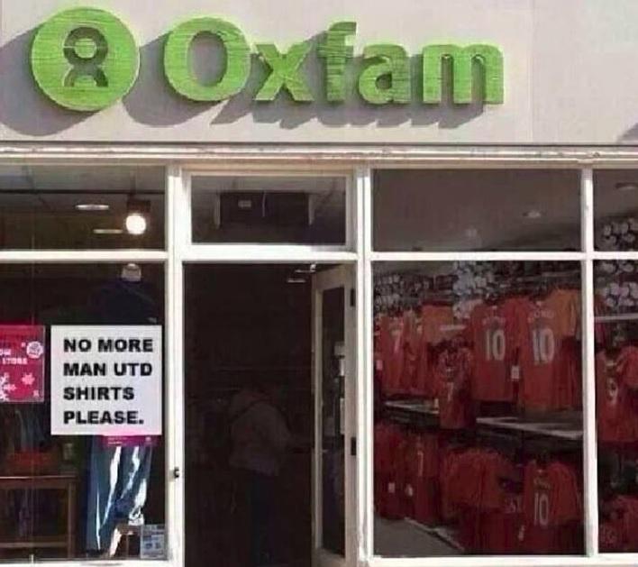 Oxfam shirts