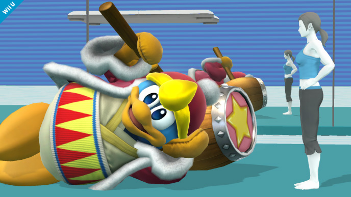 King Dedede Wii 3DS