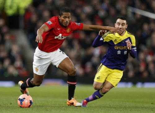 Antonio Valencia and Leon Britton