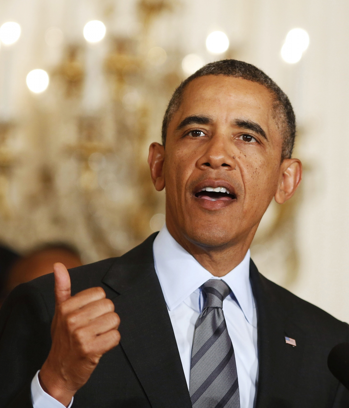 In at number 2, U.S. President Barack Obama is the second most admired person on the planet.