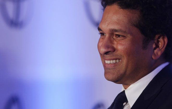 Number 5: Indian cricket player Sachin Tendulkar.
