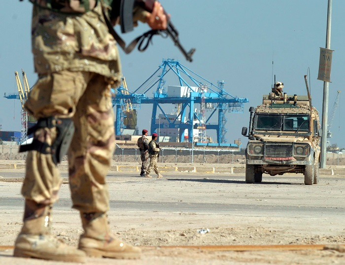 UK forces in Iraq