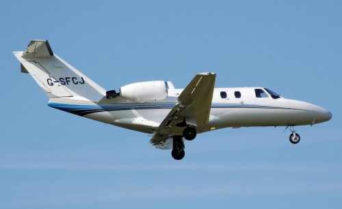 A Cessna Citation Jet, similar to that which crashed.