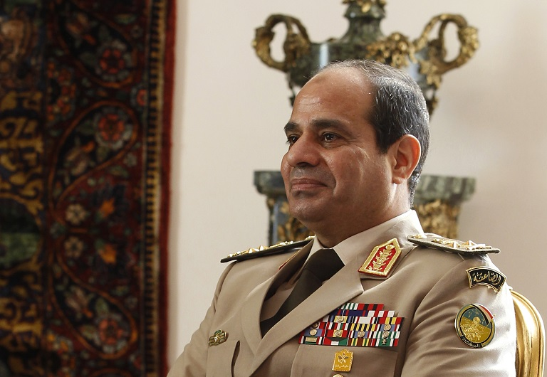 Former army chief Abdel Fattah al-Sisi announced his bid for the presidency