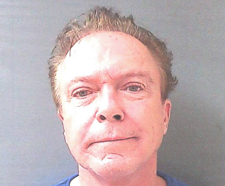 Singer David Cassidy Arrested