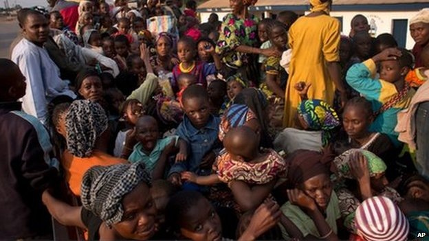 Malaria risk among refugees in CAR