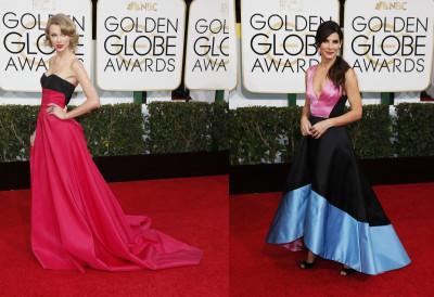 Taylor Swift and Sandra Bullock
