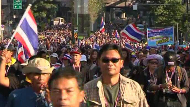 Thai Protesters Move to Shut Down Bangkok