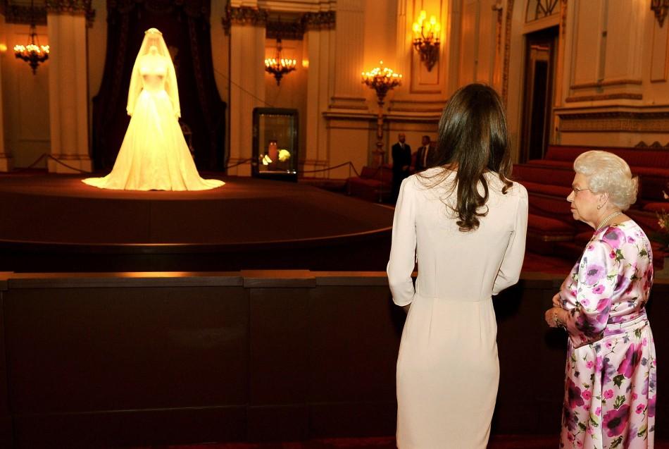 Royal Wedding Dress on Display