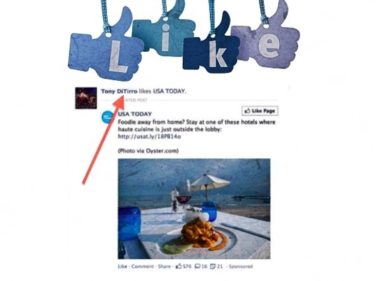 Tony DiTirro is suing Facebook for claiming he