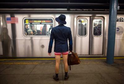 no pants new york 1