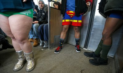 no pants chicago