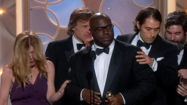 American Hustle and 12 Years a Slave Win at Golden Globes