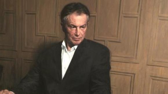 Tony Blair Mps painting