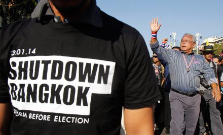 shut down bangkok