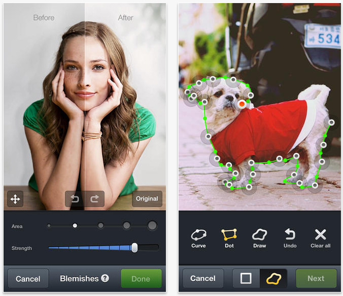 Photo Editing apps on Android and iOS for Women