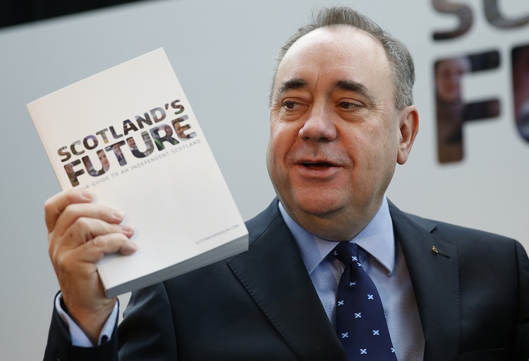 Scottish Independence: SNP's Alex Salmond Claims No One Will Block Scotland's EU Membership